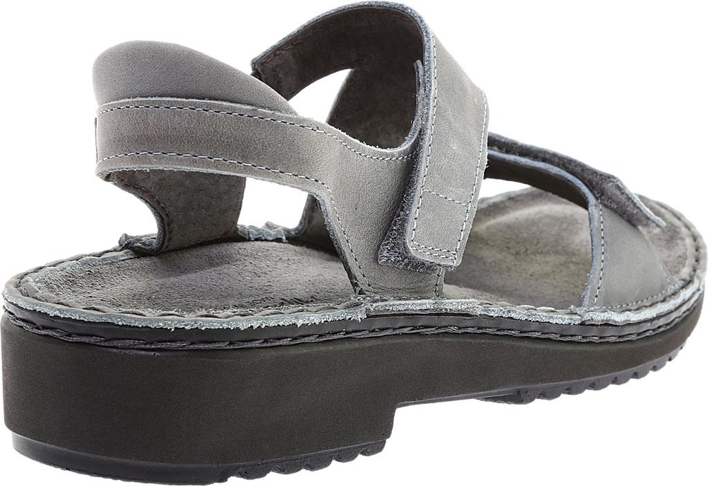Women's Naot Enid Flat Sandal, Vintage Slate Leather, large, image 4