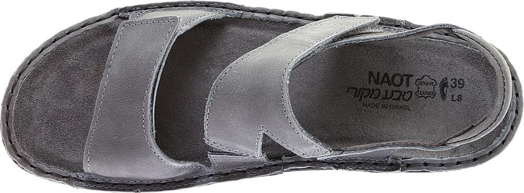 Women's Naot Enid Flat Sandal, Vintage Slate Leather, large, image 5
