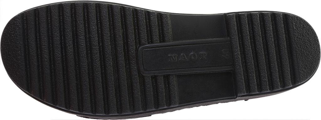Women's Naot Enid Flat Sandal, Navy Velvet/Nubuck Leather, large, image 6