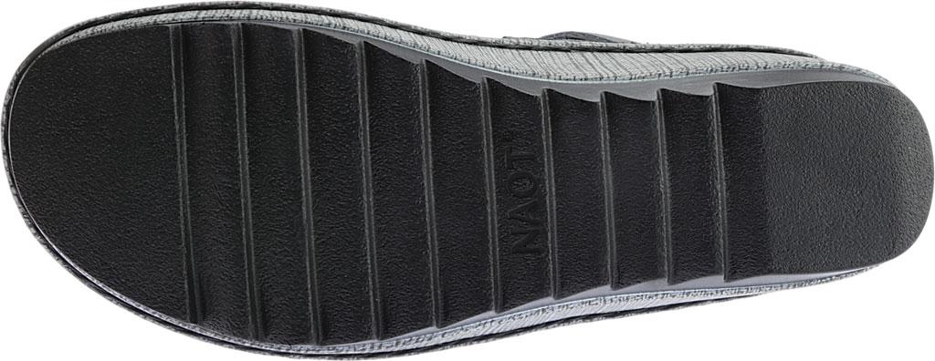 Women's Naot Verbena Wedge Sandal, Oily Coal Nubuck/Vintage Slate Leather, large, image 6