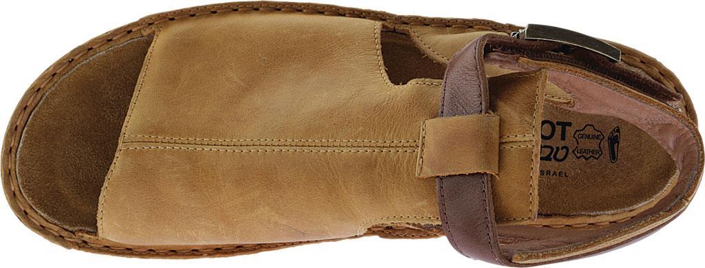 Women's Naot Verbena Wedge Sandal, Oily Dune Nubuck/Maple Brown Leather, large, image 5