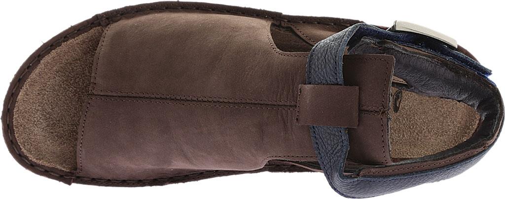 Women's Naot Verbena Wedge Sandal, Coffee/Ink Leather/Nubuck, large, image 5