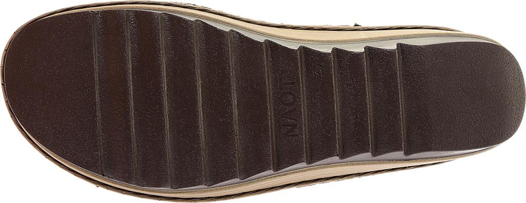 Women's Naot Verbena Wedge Sandal, Brushed Oily Olive Suede/Vintage Camel Leather, large, image 6