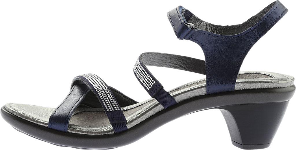 Women's Naot Innovate Heeled Sandal, Polar Sea Leather/Microfiber, large, image 3