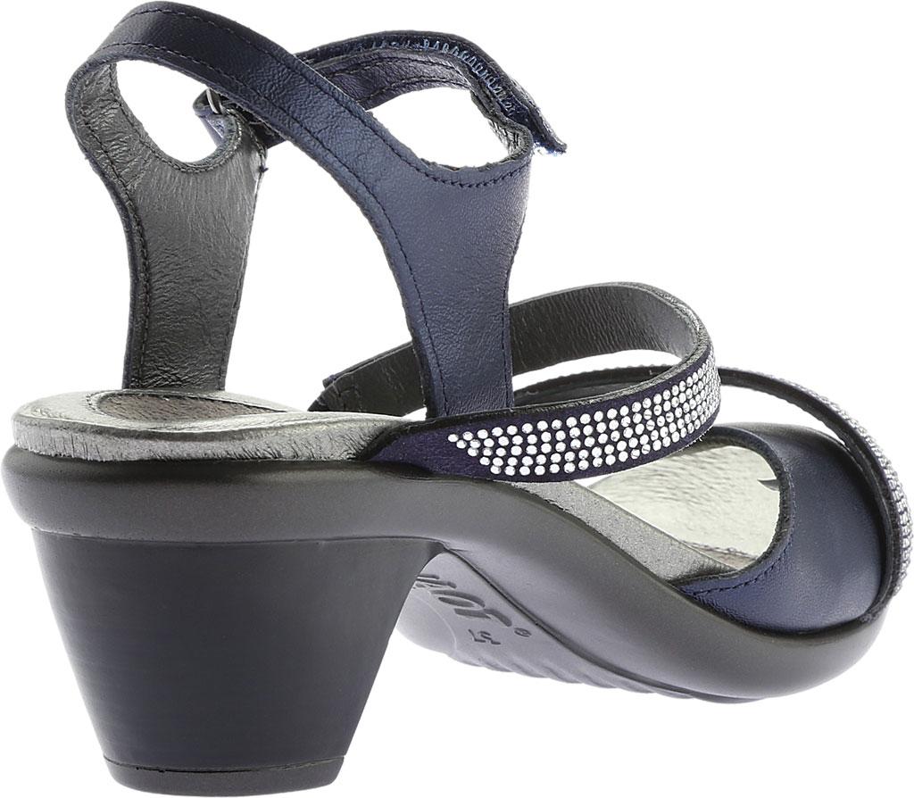 Women's Naot Innovate Heeled Sandal, Polar Sea Leather/Microfiber, large, image 4