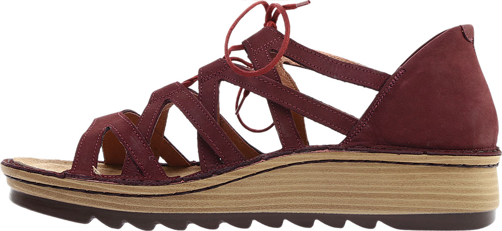 Women's Naot Yarrow Wedge Sandal, Violet Nubuck, large, image 3
