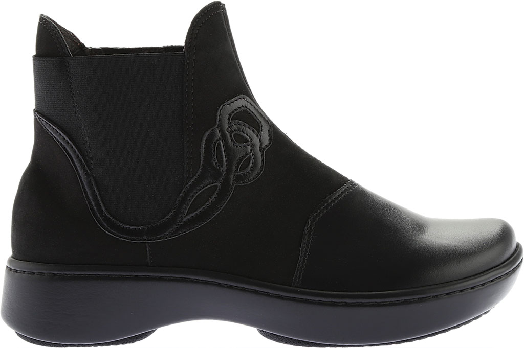 Women's Naot Limia Ankle Boot, Black Combo Leather, large, image 2