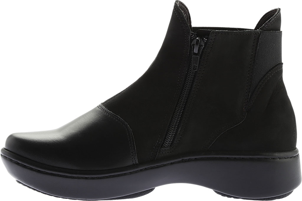 Women's Naot Limia Ankle Boot, Black Combo Leather, large, image 3