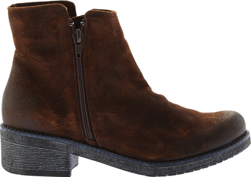 Women's Naot Wander Ankle Boot, Seal Brown Suede, large, image 2
