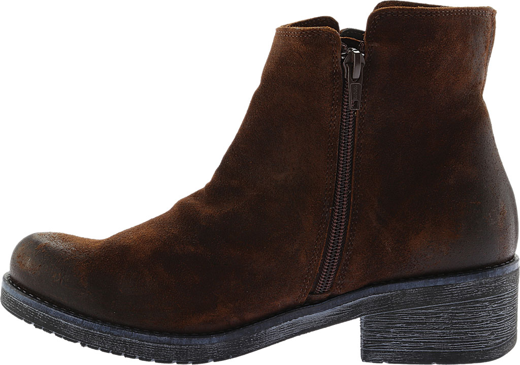 Women's Naot Wander Ankle Boot, Seal Brown Suede, large, image 3