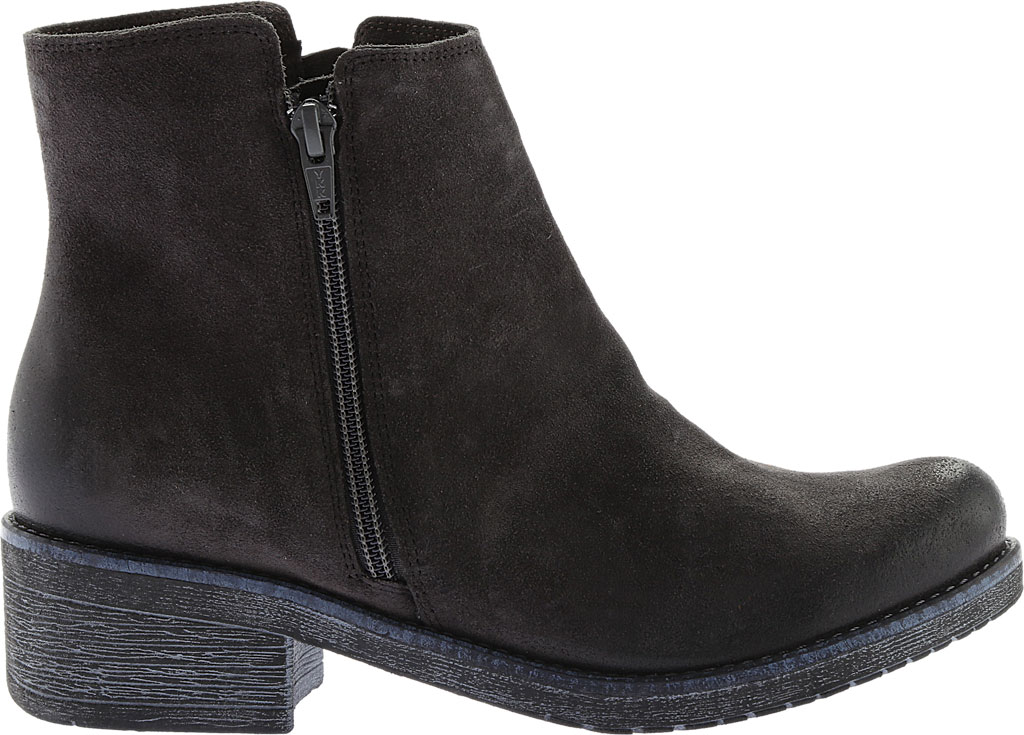 Women's Naot Wander Ankle Boot, Oily Midnight Suede, large, image 2