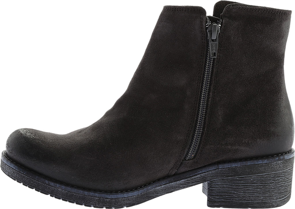 Women's Naot Wander Ankle Boot, Oily Midnight Suede, large, image 3
