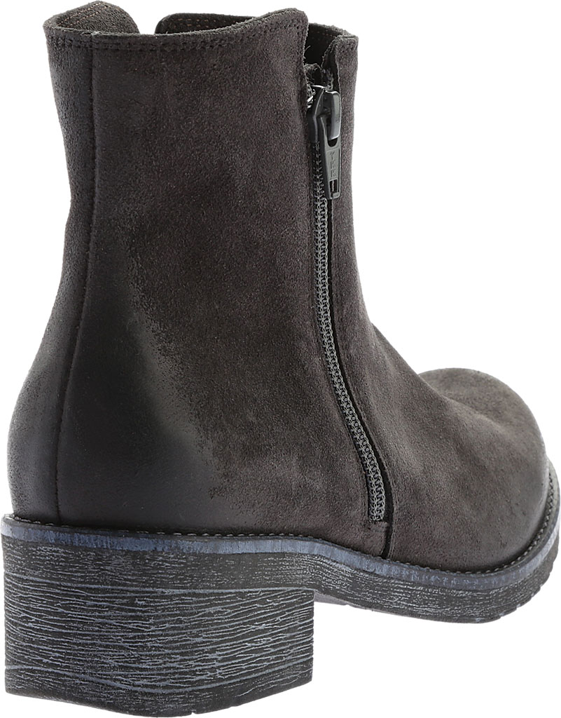 Women's Naot Wander Ankle Boot, Oily Midnight Suede, large, image 4