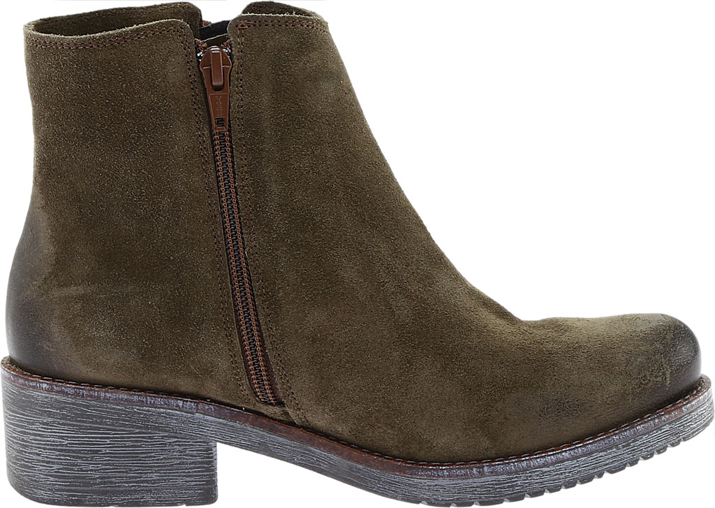 Women's Naot Wander Ankle Boot, Brushed Oily Olive Suede, large, image 2