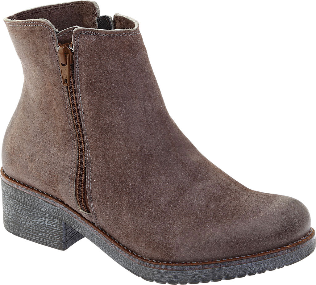 Women's Naot Wander Ankle Boot, Taupe Gray Suede, large, image 1