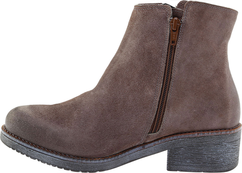Women's Naot Wander Ankle Boot, Taupe Gray Suede, large, image 3