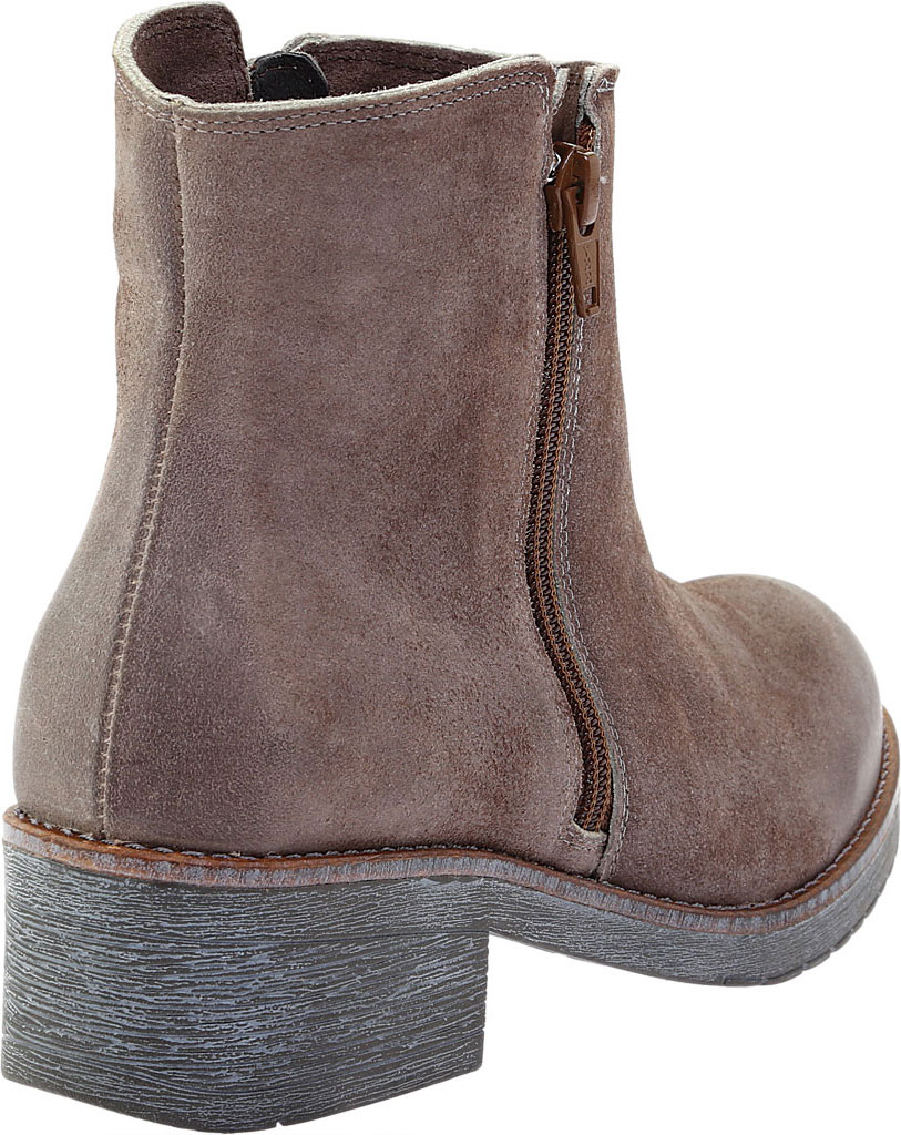 Women's Naot Wander Ankle Boot, Taupe Gray Suede, large, image 4