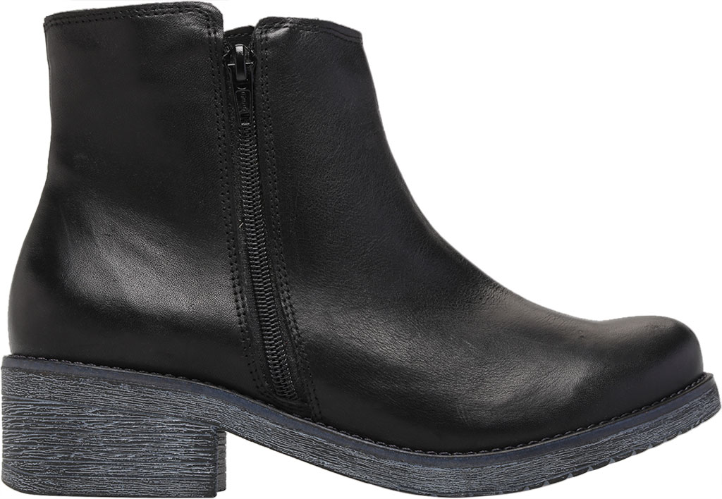 Women's Naot Wander Ankle Boot, Water Resistant Black Leather, large, image 2