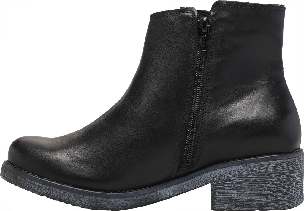 Women's Naot Wander Ankle Boot, Water Resistant Black Leather, large, image 3