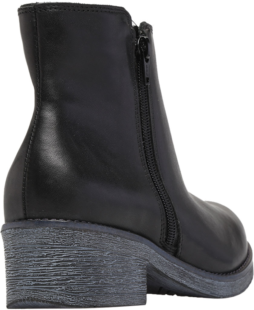 Women's Naot Wander Ankle Boot, Water Resistant Black Leather, large, image 4