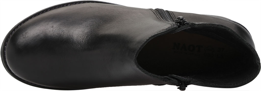 Women's Naot Wander Ankle Boot, Water Resistant Black Leather, large, image 5