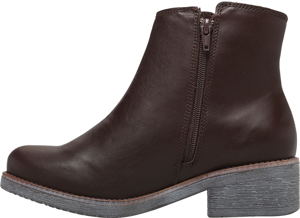 Women's Naot Wander Ankle Boot, Water Resistant Brown Leather, large, image 3