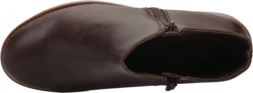 Women's Naot Wander Ankle Boot, Water Resistant Brown Leather, large, image 5