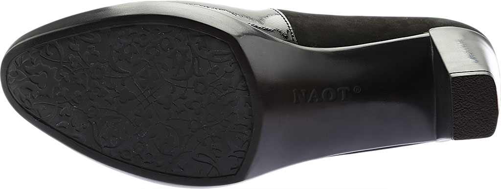 Women's Naot Brava Mary Jane, Black Combo Nubuck/Leather, large, image 6