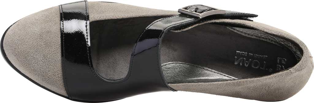 Women's Naot Brava Mary Jane, Speckled Beige/Black Luster Leather, large, image 5
