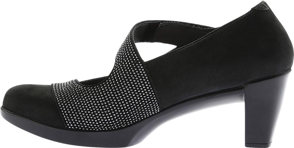 Women's Naot Abbracci Mary Jane, Black Combo Leather/Microfiber, large, image 3