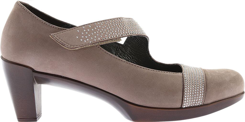Women's Naot Abbracci Mary Jane, Stone Combo Leather/Microfiber, large, image 2