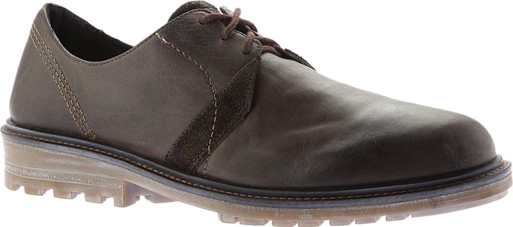 Men's Naot Lindi Oxford, Vintage Fog/Hash Leather/Suede, large, image 1