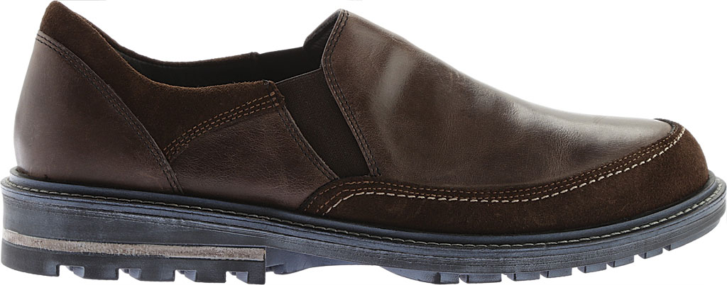 Men's Naot Pemba Slip On Shoe, Vintage Fog/Hash Leather/Suede, large, image 2