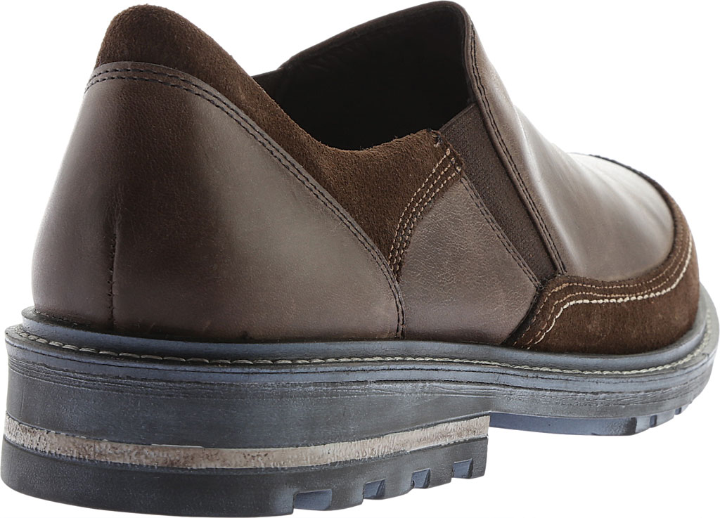 Men's Naot Pemba Slip On Shoe, Vintage Fog/Hash Leather/Suede, large, image 4