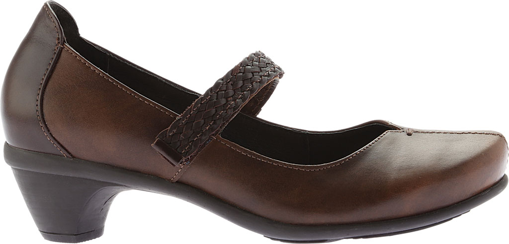 Women's Naot Forward Mary Jane, Brown Combo Leather, large, image 2