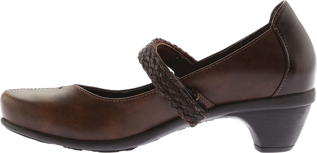 Women's Naot Forward Mary Jane, Brown Combo Leather, large, image 3