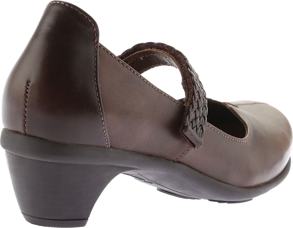 Women's Naot Forward Mary Jane, Brown Combo Leather, large, image 4