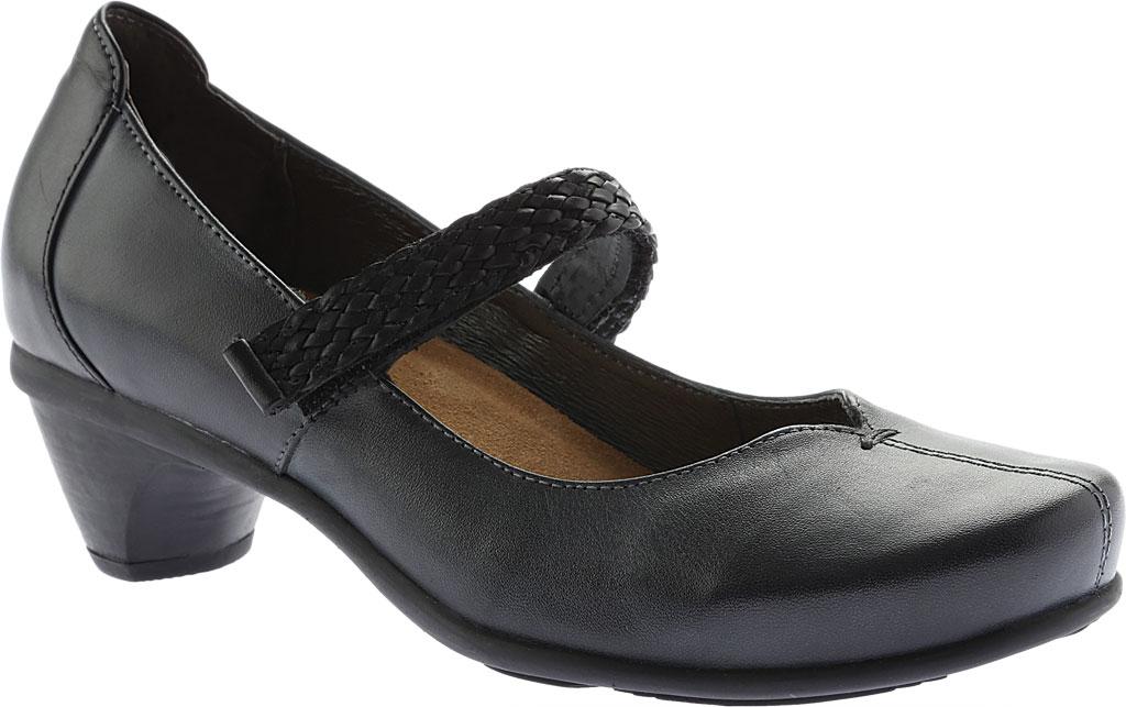 Women's Naot Forward Mary Jane, Vintage Ash/Black Leather, large, image 1