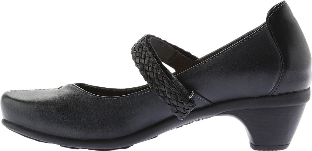 Women's Naot Forward Mary Jane, Vintage Ash/Black Leather, large, image 3