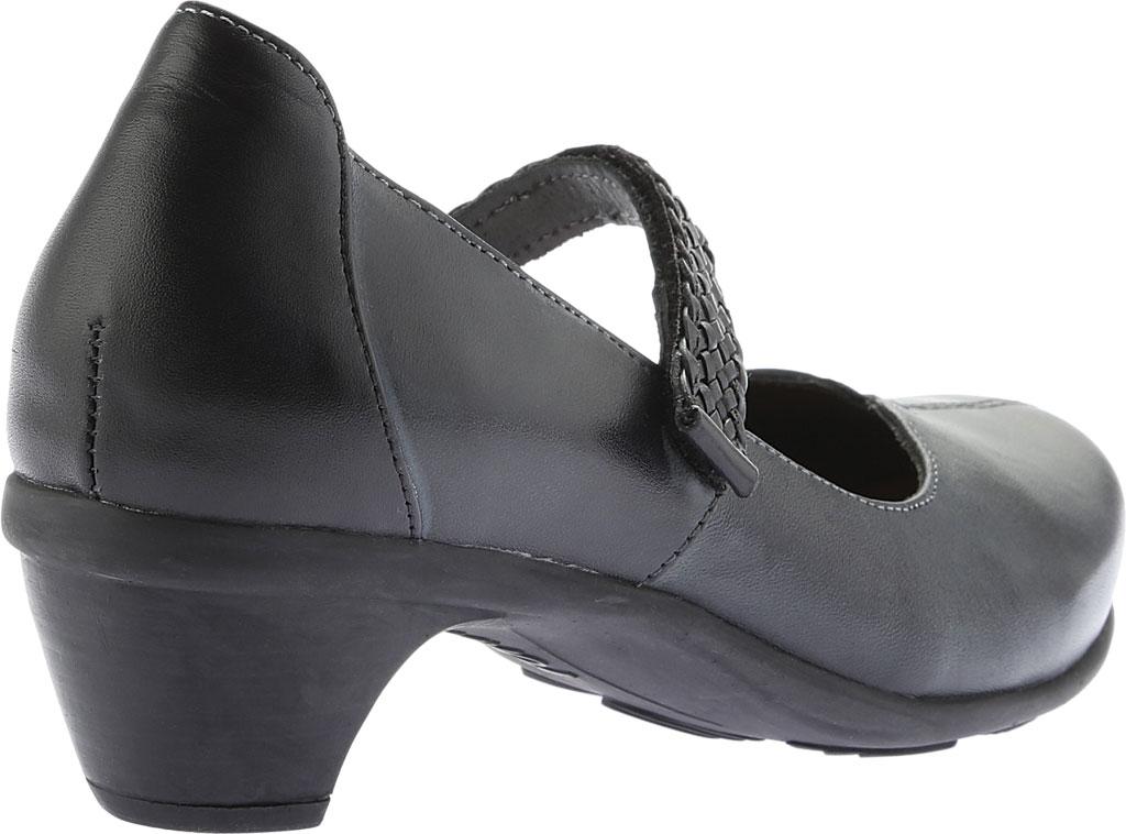Women's Naot Forward Mary Jane, Vintage Ash/Black Leather, large, image 4