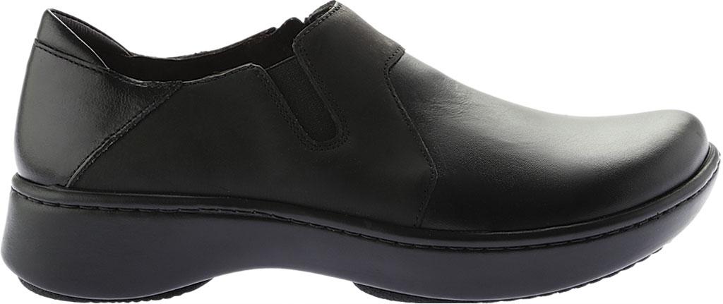 Women's Naot Lenok Slip On Shoe, Black Combo Leather/Nubuck, large, image 2
