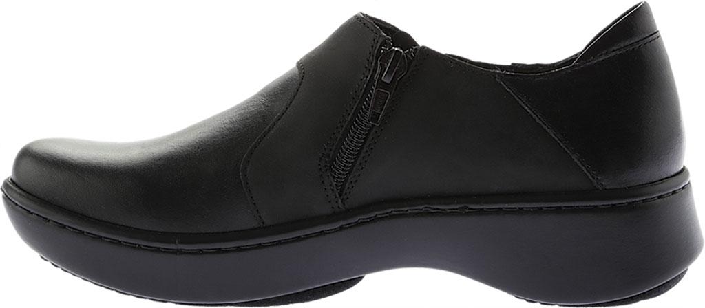 Women's Naot Lenok Slip On Shoe, Black Combo Leather/Nubuck, large, image 3