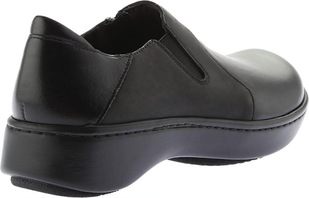 Women's Naot Lenok Slip On Shoe, Black Combo Leather/Nubuck, large, image 4