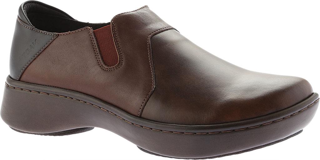 Women's Naot Lenok Slip On Shoe, Brown Combo Leather, large, image 1