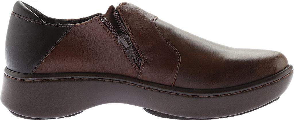 Women's Naot Lenok Slip On Shoe, Brown Combo Leather, large, image 2