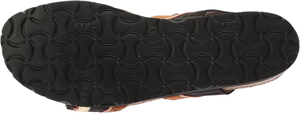 Women's Naot Beverly Slingback, Black Velvet/Hawaiian Brown Nubuck/Gold Leather, large, image 6