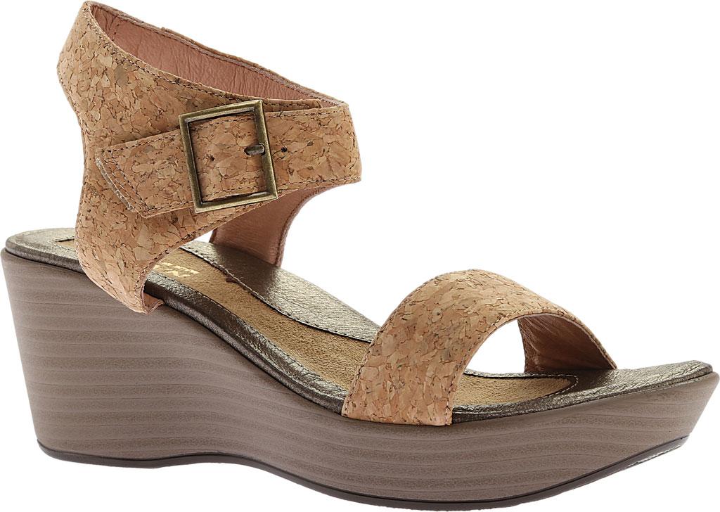 Women's Naot Caprice Wedge Sandal, Cork Leather, large, image 1