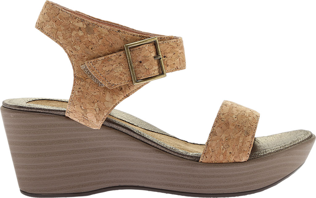 Women's Naot Caprice Wedge Sandal, Cork Leather, large, image 2