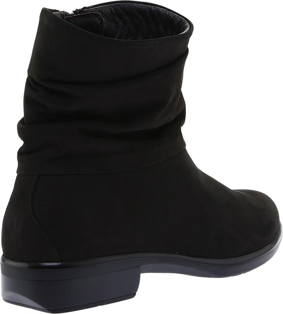 Women's Naot Brisote Bootie, Black Velvet Nubuck, large, image 4