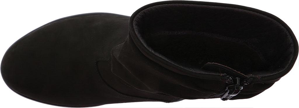 Women's Naot Brisote Bootie, Black Velvet Nubuck, large, image 5